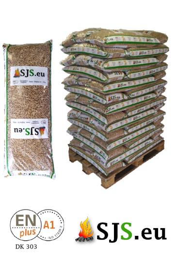 SJS Pellets Premium Sackware [16Kg/896Kg]